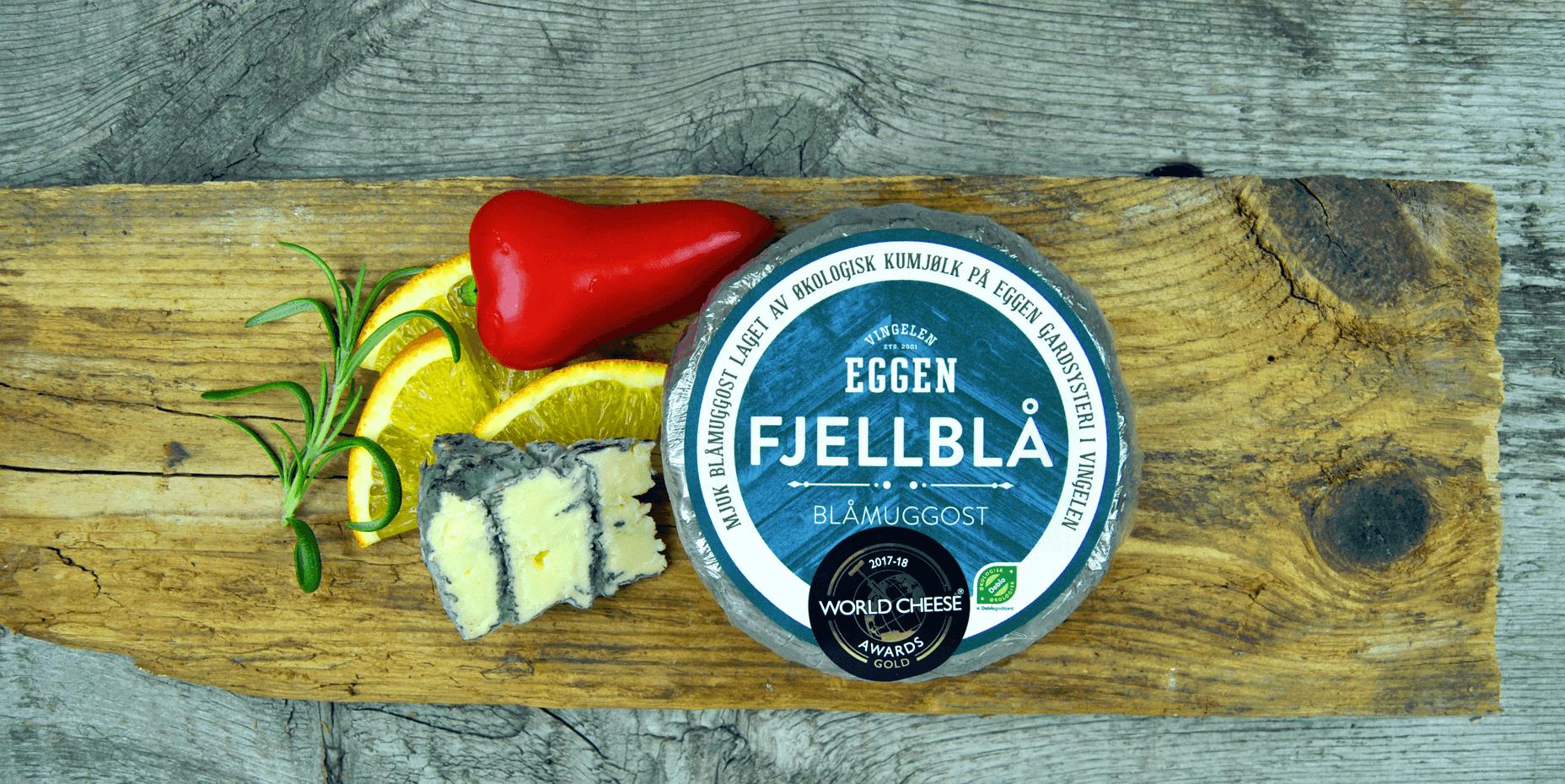 Eggen Fjellblå - Blåmuggost